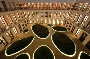 L-Bank, courtyard,  Karlsruhe (26 images)