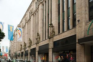 department store Tietz, Wuppertal (10 images)